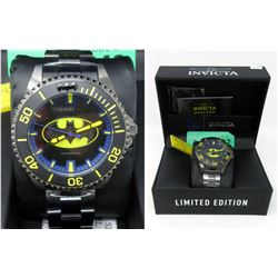 New in Box Mans Invicta Batman Watch