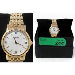 New in Box Ladies Diamond Bulova Watch