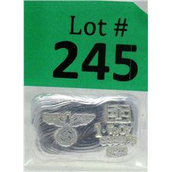 1 Oz Nazi Eagle &Swastika.9999 Silver Bar