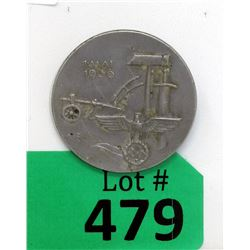 "1936 German Nazi ""May Day"" Tinnie Badge"
