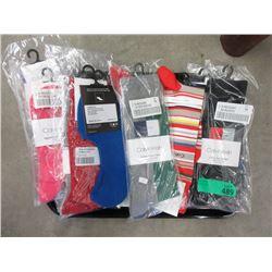 10 New Pairs of Men's Calvin Klein Socks