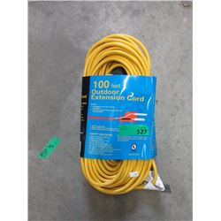 New 100 Foot Outdoor Extension Cord