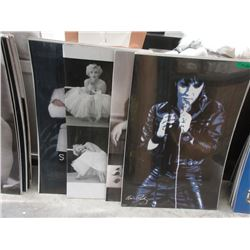 "10 Assorted New Posters - 24"" x 36'"