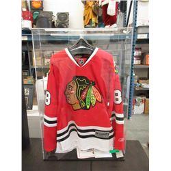 Autographed Kane #88 Black Hawks Jersey