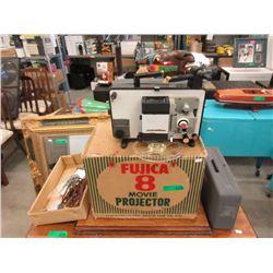 Fujica 8 Movie Projector in Original Box