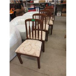 5 Oak Dining Chairs
