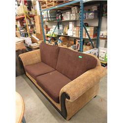 Large Upholstered 2 Seat Sofa