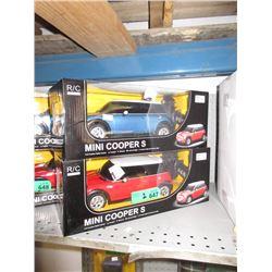 2 New 1:14 Scale R/C Mini Cooper S