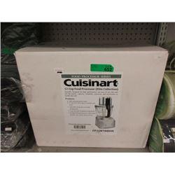 New Cuisinart 12 Cup Food Processor
