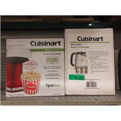 New Cuisinart Popcorn Maker & Glass Kettle