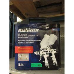 New Mastercraft 37 Piece Spray Gun Kit