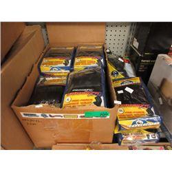 Large Case of Leather Wrap Bag Gloves