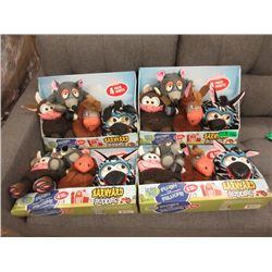 4 New Barnyard Buddies Toys