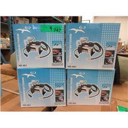 4 New Seagull 12 Volt 140 psi Air Compressor
