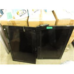 "2 Haier 30"" Flat Screen TVs - Untested"