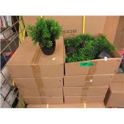 "Case of 48 New 8"" Artificial Plants"