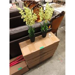"6 Cases of 6 New 26"" Artificial Flowers"