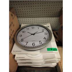 """7 New 14"""" Wall Clocks"""