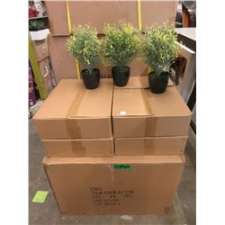 """Case of 48 New 12"""" Artificial Plants"""