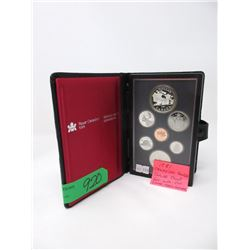 1981 Canadian Double Dollar Proof Coin Set