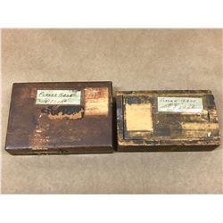 (2) STARRETT NO. 599 & NO. 995 PLANER / SHAPER GAGE