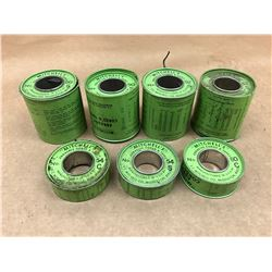 LOT OF MITCHELS ABRASIVE CORD *SEE PICS FOR PART #*