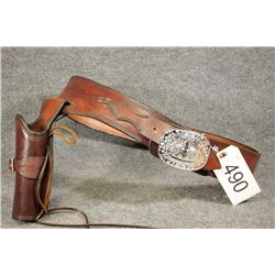 Leather Holster and Belt