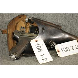 PROHIBITED. Luger P08 WWI