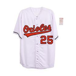 Baltimore Orioles Rafael Palmeiro Autographed  Jersey