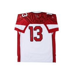 Arizona Cardinals Kurt Warner Autographed Jersey