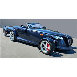 2001 Chrysler Prowler and Trailer