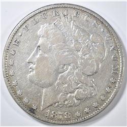 1878 8TF MORGAN DOLLAR  FINE