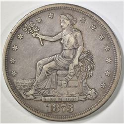 1873-CC TRADE DOLLAR   XF