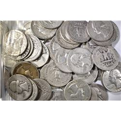 $12.50 FACE VALUE 90% SILVER QUARTERS