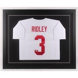 newest collection 2655e 0d5ec Calvin Ridley Signed 35.5x43.5 Custom Framed Jersey (JSA ...