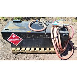 Fuel Tank w/ Pump & Hose, 90-Gallon