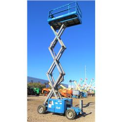 2012 Genie GS2669 Rough-Terrain Scissor Lift, 26-Ft Platform Ht, 1407 Hrs, (Runs & Works - See Video