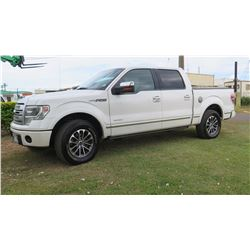 2013 Ford F-150 Platinum Truck Quad Cab 94,825 Miles Transmission Slips & Needs Repair