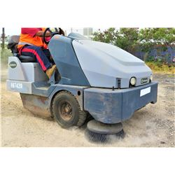 Exterra Ride-On Outdoor Sweeper (Runs and Drives See Video)