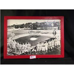 "Nice Enlarged Photo of  Vancouver Capilano Baseball Club 1939 33"" x23"""
