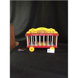"Vintage Fisher Price Circus Wagon. 15"" x 11"""