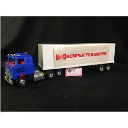1980's Bumper to Bumper Toy Semi Truck