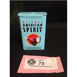 Natural American Spirit Tobacco Tin/Cigarette Tin
