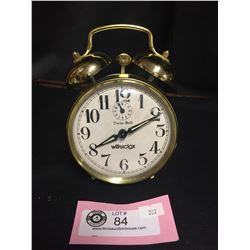 Twin Bell Westclox Alarm Clock Working