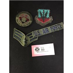 4 US Vintage Military Patches