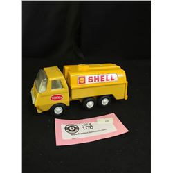 """Vintage Shell Tonka Truck in Very Good Shape. 6"""" L x 2.5"""" H"""