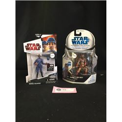 2 Star Wars Figures. New In Package. AK-Rev  and Cloud City Wing Guard The Legacy Collection