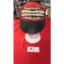 1950's-60's Champion Spark Plugs Hat.