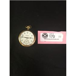 Vintage Admirl Pocket Watch With Seconds Dial on Face. Needs Repair and Crystal