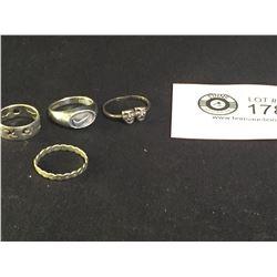 Vintage Sterling Silver Rings
